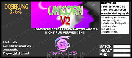 Unicorn V2 - Aroma Twisted 10ml