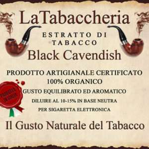 BLACK CAVENDISH Aroma La Tabaccheria 10ml
