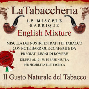 ENGLISH MIXTURE Aroma La Tabaccheria da 10ml