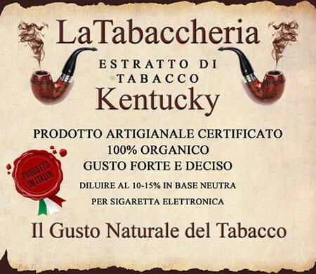 KENTUCKY Aroma La Tabaccheria da 10ml