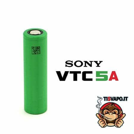 batteria 18650 sony vtc5a 30 ampere