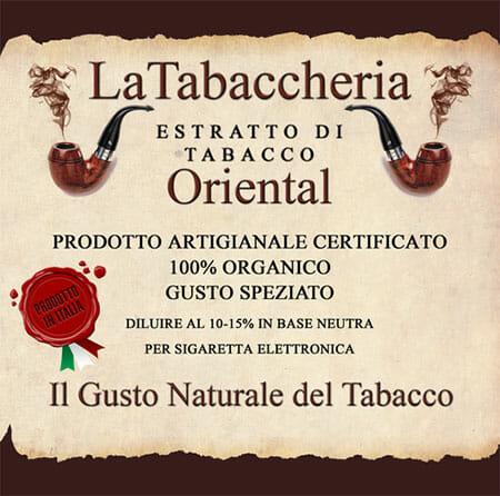 ORIENTAL Aroma La Tabaccheria 10ml