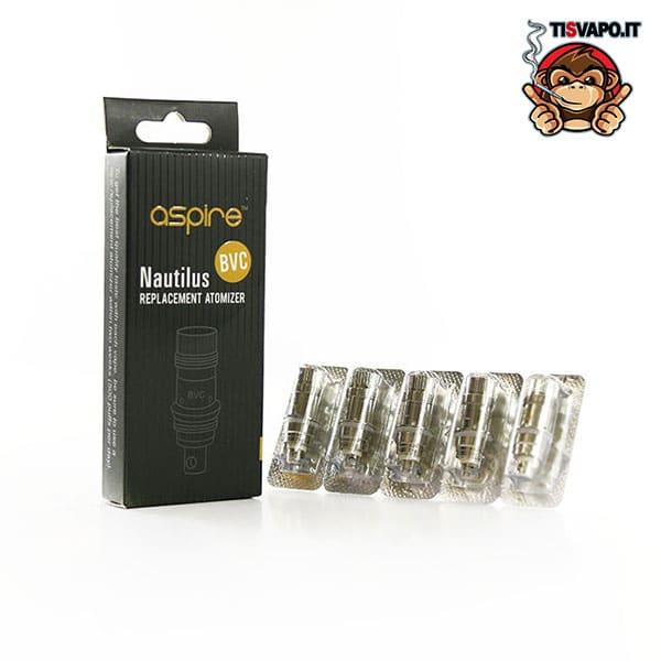 Testine Coil Nautilus BVC 0.7 Ohm, 1.6 Ohm, 1,8 Ohm - Aspire