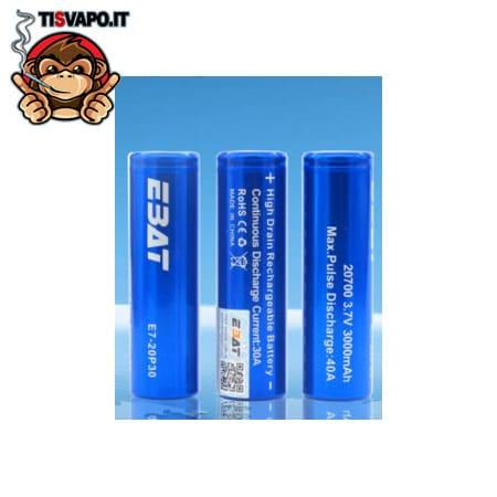 Batteria 20700 40Ampere 3000mAh EBAT
