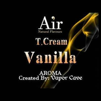 Vapor Cave T. Cream Vanilla