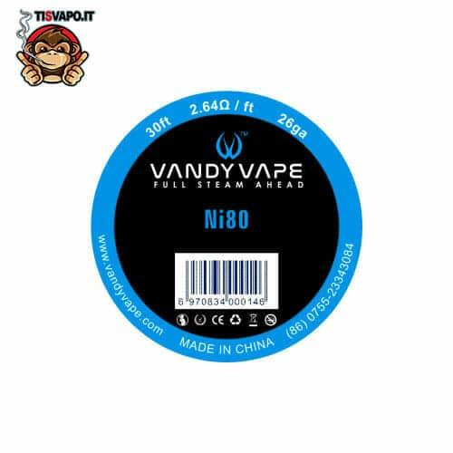 Filo Resistivo Kanthal A1 26ga 0.40mm - Vandy Vape