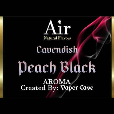 Vapor Cave Peach Black