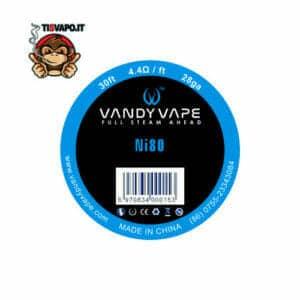 Filo Resistivo Ni80 28ga 0.32mm - Vandy Vape