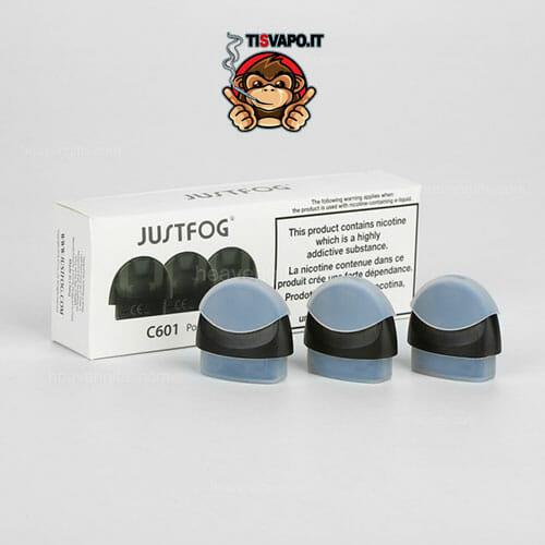 Cartucce ricaricabili - Pod C601 Scatola da 3 pezzi - Justfog