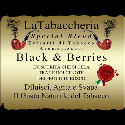 BLACK E BERRIES Special Blend - La Tabaccheria
