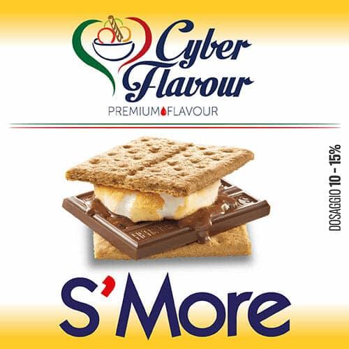 S'MORE aroma da 10ml. Cyber Flavour