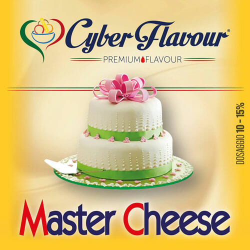 MASTER CHEESE aroma da 10ml. Cyber Flavour