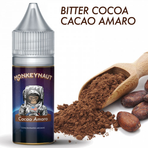 MonkeyNaut CACAO AMARO Aroma Concentrato 10 ml