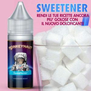 MonkeyNaut SWEETENER Aroma Concentrato 10 ml