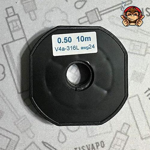 Filo Resistivo ZIVIPF acciaio SS 316L 24ga 0.50mm