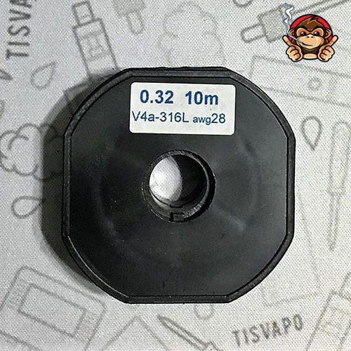 Filo Resistivo ZIVIPF acciaio SS 316L 28ga 0.32mm