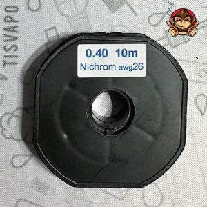 Filo Resistivo ZIVIPF NiChrome Ni80 26ga 0.40mm