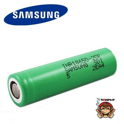 Samsung 25R 18650 2500 mAh - 25 A
