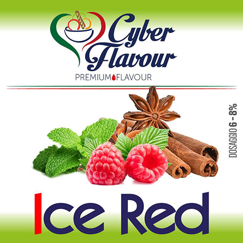 ICE RED aroma da 10ml. Cyber Flavour