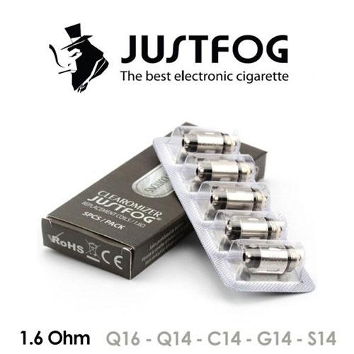Testine per C14 / G14 / S14 /Q14 /Q16 / P16a - Justfog