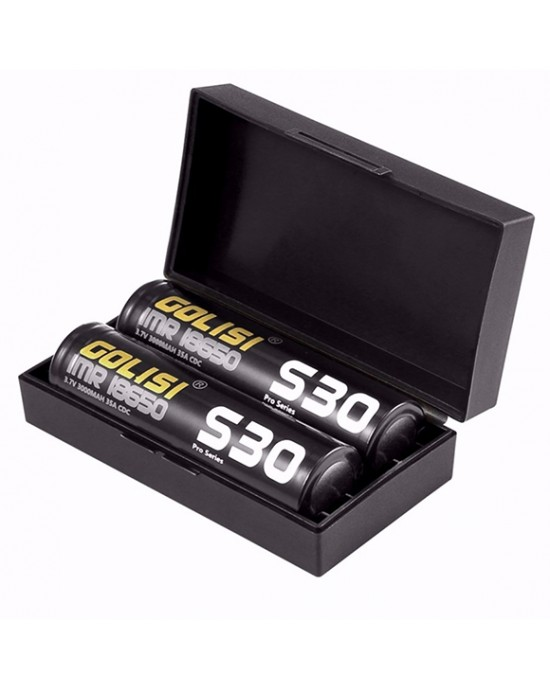 S30 IMR 18650 35Ampere 3000mAh (2 pezzi) - Golisi
