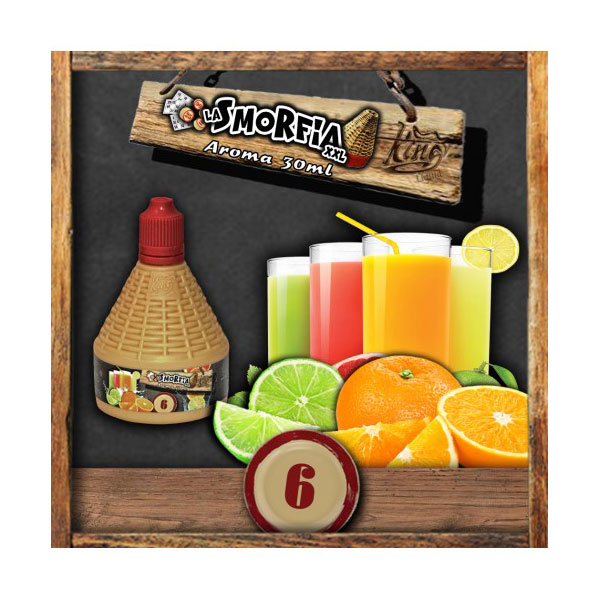 La Smorfia n.6 - Aroma Concentrato 30ml - King Liquid