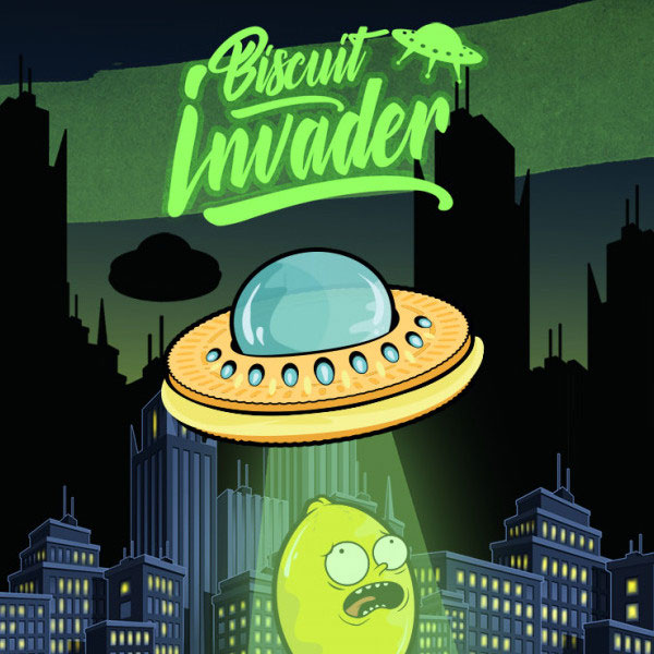 Biscuit Invader - Aroma Concentrato 20ml - Shake 'N' Vape