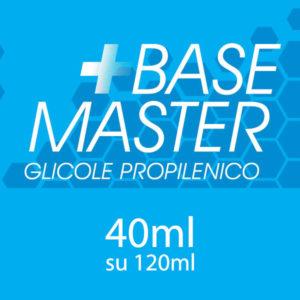 Glicole Propilenico 40ml con Chubby da 120 ml - Base Master
