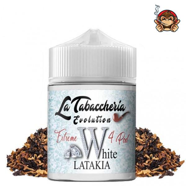 WHITE LATAKIA - Extreme 4Pod - aroma concentrato 20ml - La Tabaccheria