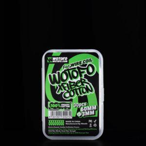 Profile Xfiber - Cotone pretagliato 3mm (30 Pezzi) - Wotofo