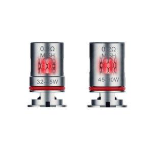 Testine (Coil) di Ricambio GTX a Mesh (5 Pezzi) - Vaporesso