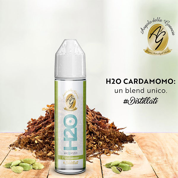 H2O Aromatized Cardamomo - Aroma Concentrato 20ml - Angolo della Guancia
