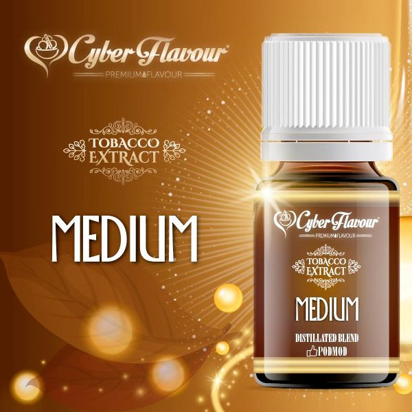 MEDIUM Tobacco Extract  - Aroma 12ml. - Cyber Flavour