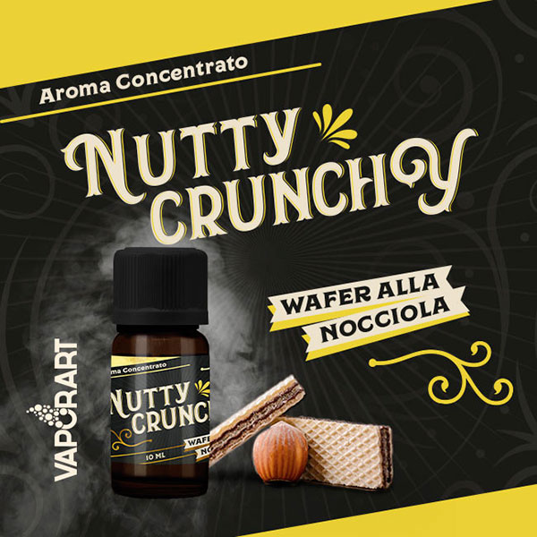 NUTTY CRUNCHY - Premium Blend - Vaporart
