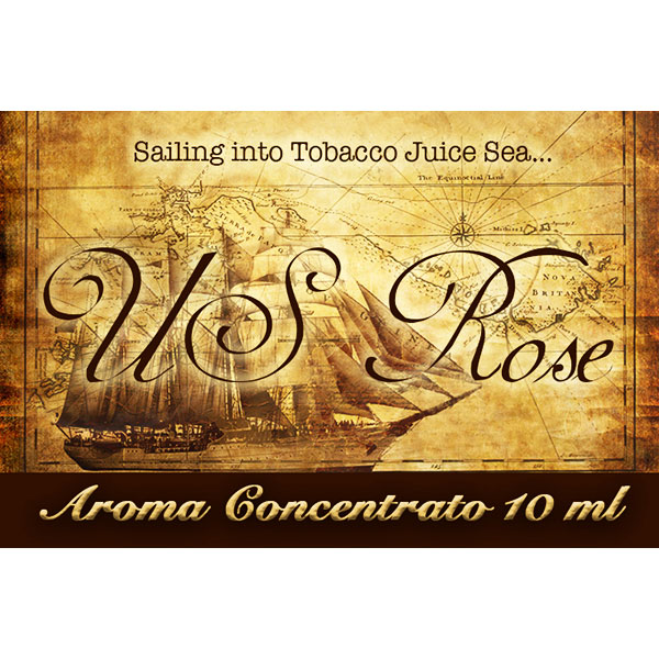 U.S. Rose - Selection - aroma 10ml. - Blendfeel