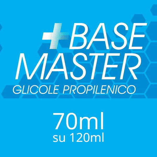 Glicole Propilenico 70ml con Chubby da 120ml - Base Master