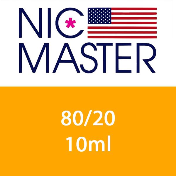 Basetta 80/20 10ml - Nic Master