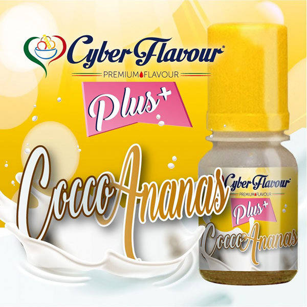 Cocco Ananas Plus+ aroma da 10ml. - Cyber Flavour