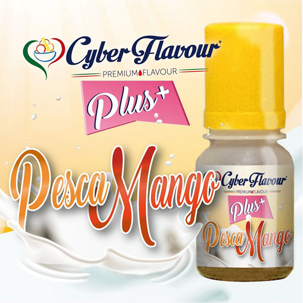 Pesca Mango Plus+ aroma da 10ml. - Cyber Flavour