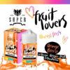 Fruit Lovers Orange Breeze -  Mix Series 50ml - Super Flavor