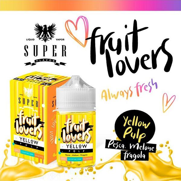 Fruit Lovers Yellow Pulp -  Mix Series 50ml - Super Flavor
