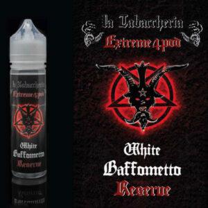 BAFFOMETTO WHITE RESERVE - Extreme 4Pod - aroma concentrato 20ml - La Tabaccheria