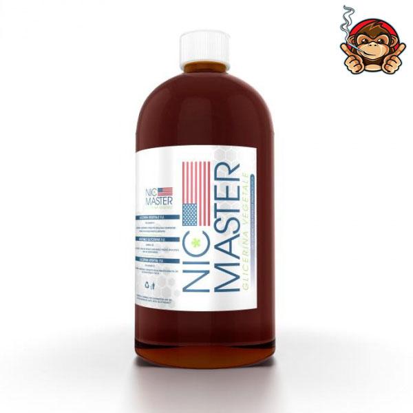 Glicerina Vegetale 500ml in bottiglia da 1 litro - Nic Master