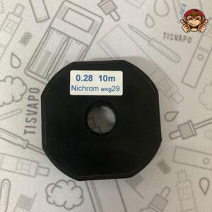 Filo Resistivo ZIVIPF NiChrome Ni80 29ga 0.28mm