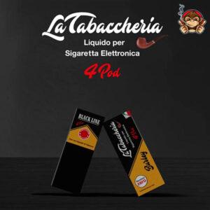 Burley - Black Line 4Pod - Liquido Pronto 10ml - La Tabaccheria