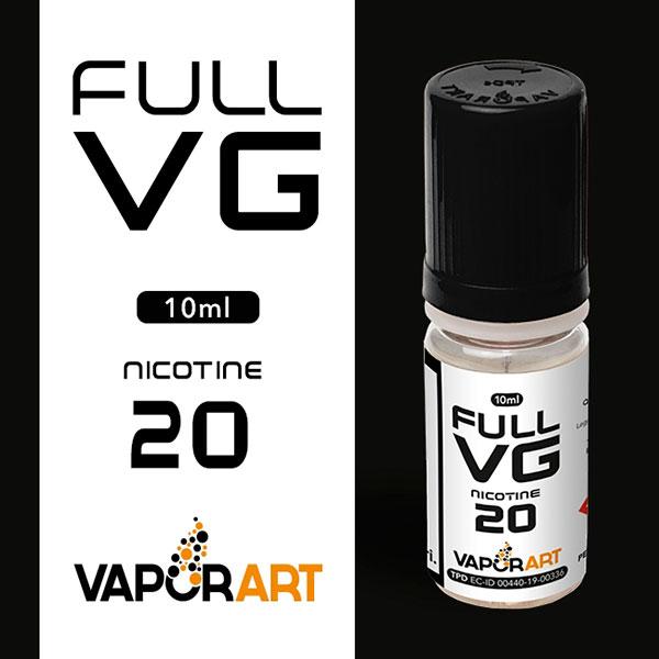 Basetta Nicotina Full VG (glicerina vegetale) 10ml - Vaporart