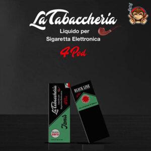 Izmir - Black Line 4Pod - Liquido Pronto 10ml - La Tabaccheria