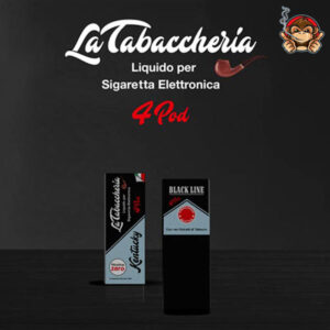 Kentucky - Black Line 4Pod - Liquido Pronto 10ml - La Tabaccheria