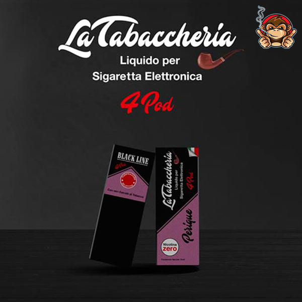 Perique - Black Line 4Pod - Liquido Pronto 10ml - La Tabaccheria