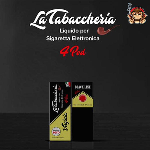 Virginia - Black Line 4Pod - Liquido Pronto 10ml - La Tabaccheria